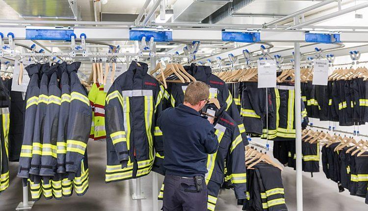 Feuerwehrzentrum Kalk – Kleiderkammer